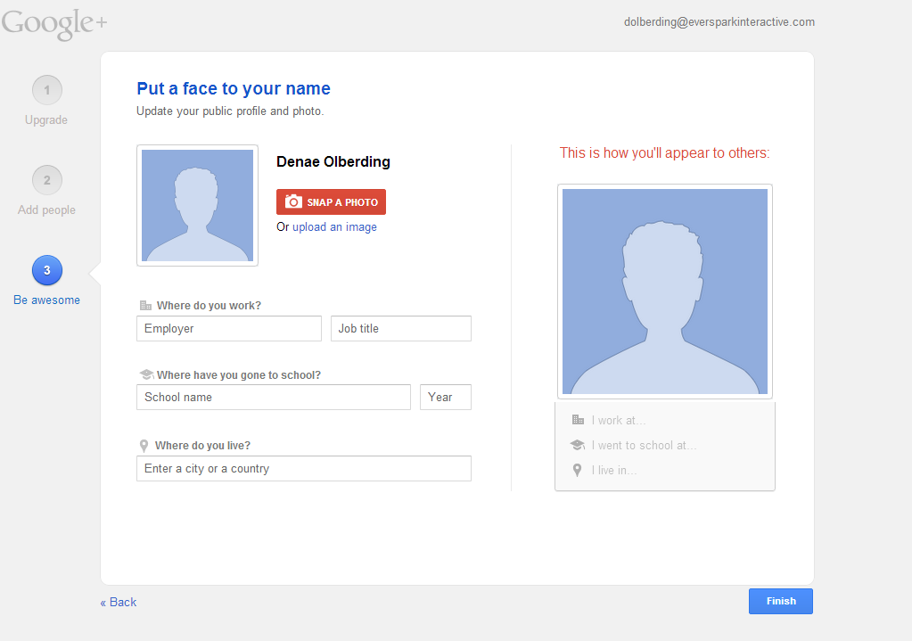 Guide to Google+ Profile Page Setup