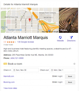 Google's New Hotel Listings Have Lessons for Non-Hotels