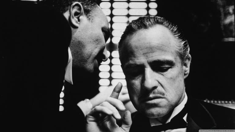 the godfather black and white